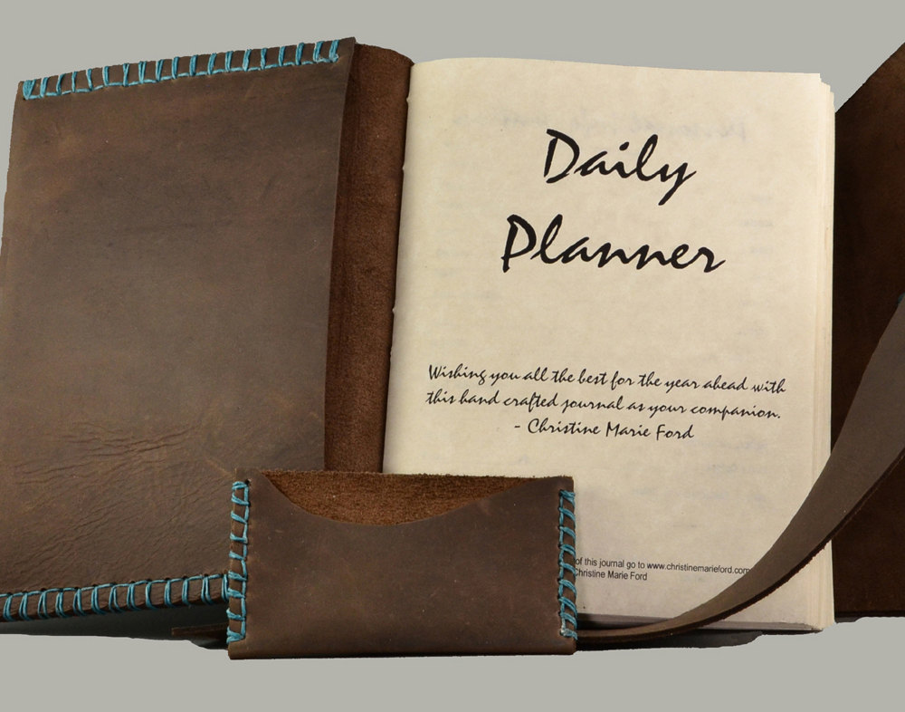 Rustic Daily Planner For The Adventurous Soul Christine Marie Ford - Custom daily planner